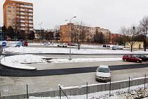 Nové parkoviště.