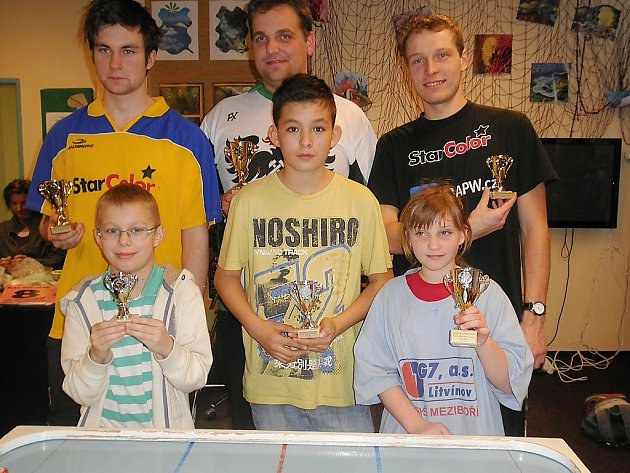 Český pohár v billiard-hockeyi šprtci – Meziboří, Plzeň.