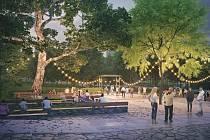 Druhé místo v architektonické soutěži na obnovu parku Střed v Mostě získal tým Land05 & gogolak+grasse