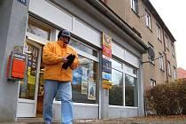 Pošta v bloku 5 je nyní zavřená.