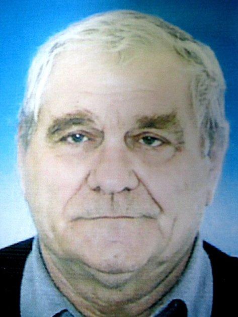 Pohřešovaný Antonín Seemann z Mostu.