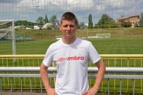 Úspěšný mládežnický trenér Mosteckého fotbalového klubu Tomáš Rain.