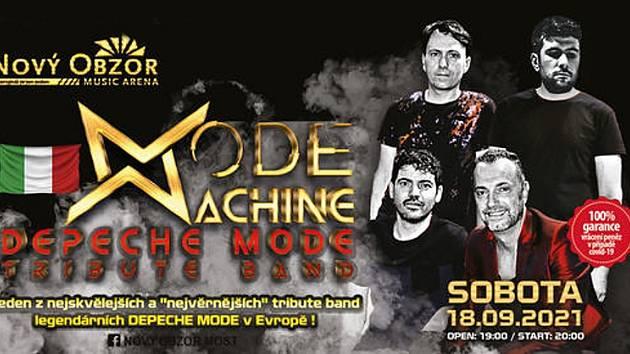 Poprvé v Česku a rovnou do Mostu. Přijede Mode Machine tribute Depeche Mode.