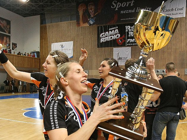 Karin Schererová před lety už s Mostem úspěchy slavila.