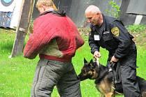 Lukostřelnice v Litvínově hostila závody služebních psů.