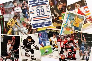 Sportovní kartičky se vrací. Vyráběly se, stále vyrábí a sbírají i u nás.