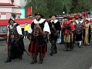 Pochod porozumění v Horním Jiřetíně.
