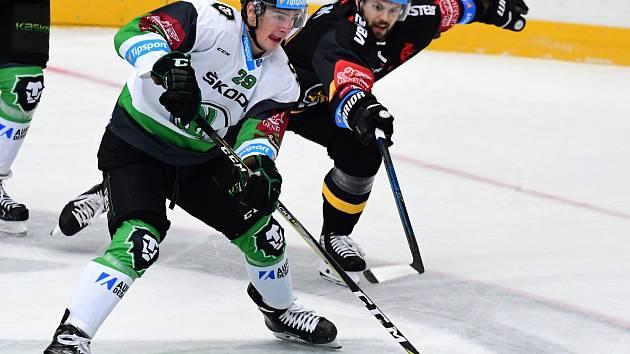Litvínov hrál v prvním extraligovém kole na ledě Mladé Boleslavi.