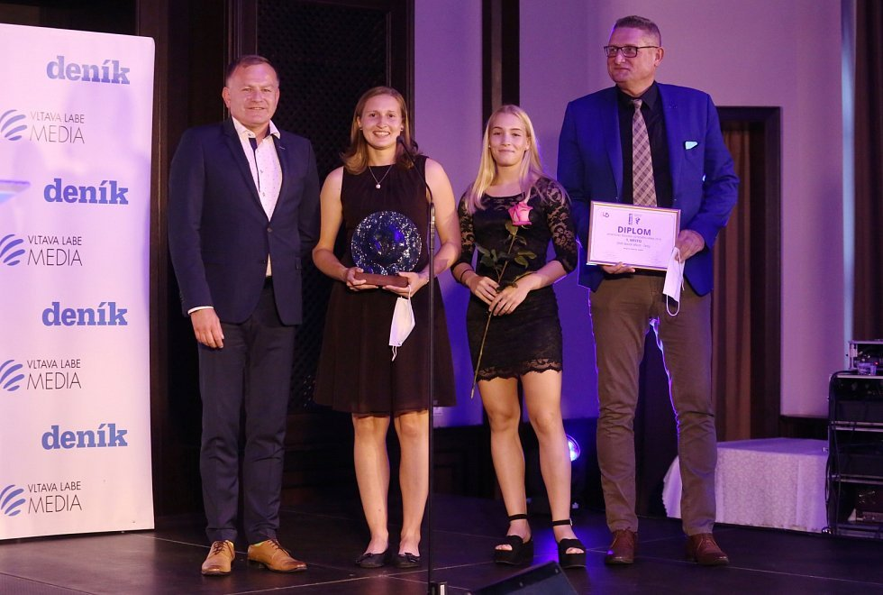 Lounská aerobička Adéla Citová se stala novou sportovní královnou Ústeckého kraje v anketě Sportovec regionu 2019. Galavečer se uskutečnil na ústecké Větruši.