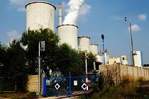 Elektrárna Chvaletice u Pardubic.