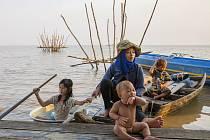 Život na jezeře Tonlé Sap