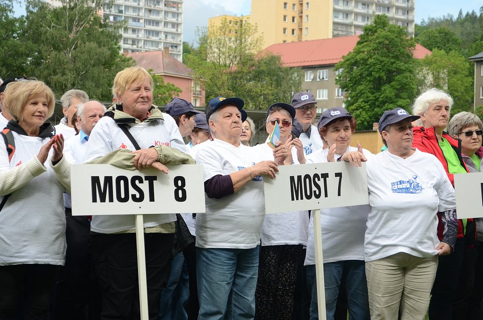 Sportovní hry seniorů v Litvínově.