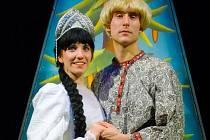 Pohádka Mrazík v podání Docela velkého divadla Litvínov.