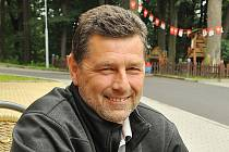 Šéf litvínovského fotbalového klubu Zdeněk Uhlíř.