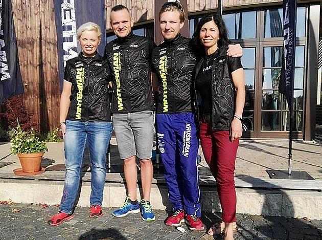 Zleva Lucie Süsserová, Tomáš Langhammer, Pavel Kočíb a Alena Vrátná.
