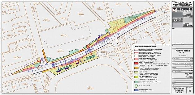 Návrh přestupního terminálu Citadela vLitvínově