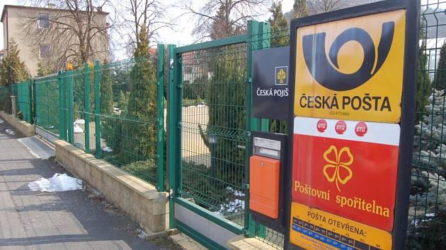 Pošta zavře pobočku v Souši.