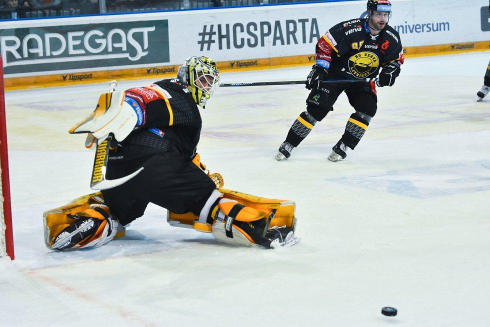 Litvínov schytal na Spartě debakl.