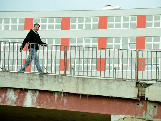 Rekonstrukce nemocnice v Mostě.