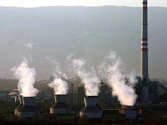Teplárna United Energy v Komořanech.