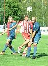 Benefiční utkání Michala Ungera a Petra Johany.
