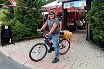 Thomas Liebscher ze saského Pockau absolvoval cyklovandr po Česku.