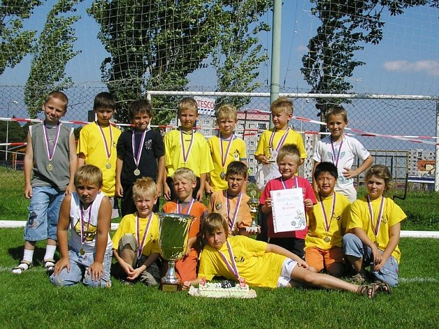Mladí litvínovští fotbalisté na velkém turnaji byli skvělí.