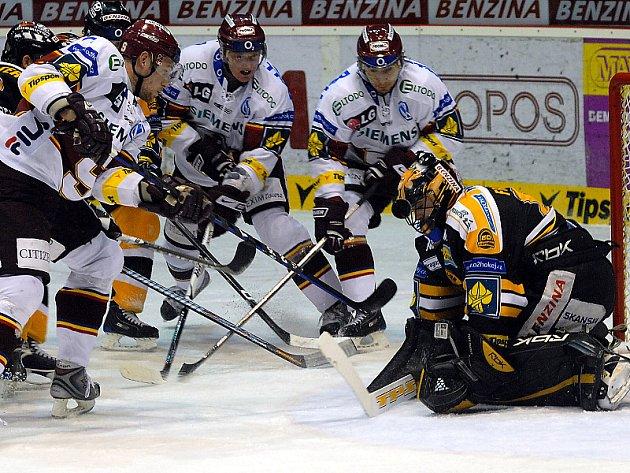Hokejová extraliga Litvínov - Sparta.