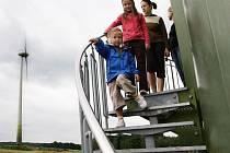 Na Nové Vsi v Horách se pro veřejnost otevře větrná elektrárna.