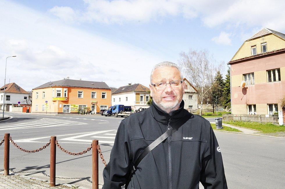 Starosta obce Braňany Petr Škanta.