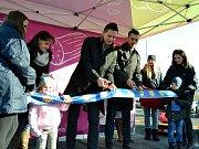 Otevření nové prodejny Lidlu v Mostě.