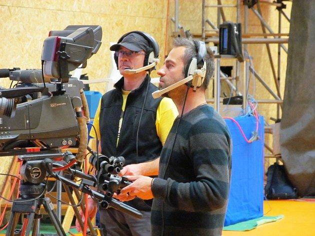 Kameramani v akci.
