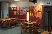 Výstava v Cafe - baru Citadely.