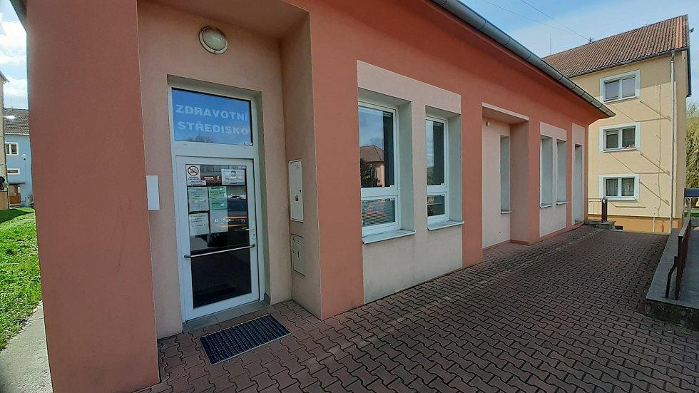 Obec Braňany, zdravotnické středisko.