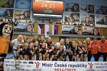 Černí andělé mají pátý český titul v řadě.