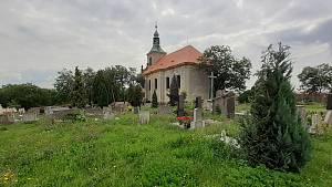 Hřbitov ve Vtelně