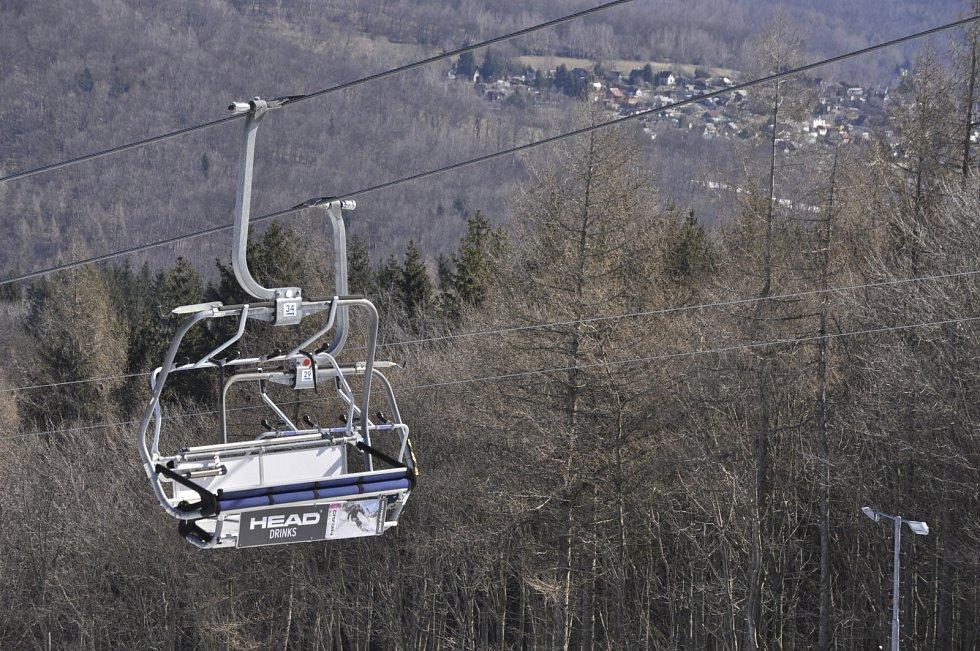 Klíny v Krušných horách, sobota 6. března