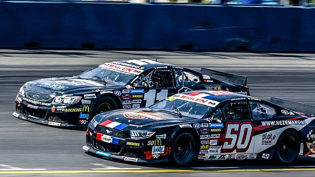 NASCAR bude v Mostě obrovským lákadlem.