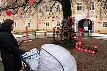 Litvínovský zámek je v zajetí svátku zamilovaných.
