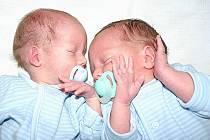 Mamince Zuzaně Radostové se v Mostě 21. prosince narodila dvojčátka. Syn Jan Kruták přišel na svět v 7.59 hodin a měřil 46 centimetrů a vážil 2,7 kilogramu. Jeho bratříček Filip Kruták se narodil v 8 hodin a měřil 46 centimetrů a vážil 1,95 kilogramu.