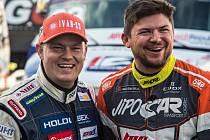 Evropský šampion Adam Lacko (vlevo) a Martin Prokop.