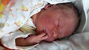 Václav Halada se narodil 12. října 2017 v 15.55 hodin mamince Evě Haladové z Mostu 22. října v 10.45 hodin. Měřil 52 cm a vážil 3,83 kilogramu.