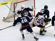 První zápas semifinále play off mezi Litvínovem a Libercem.