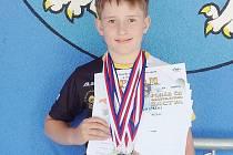 Litvínovský plavec Petr Adamec.
