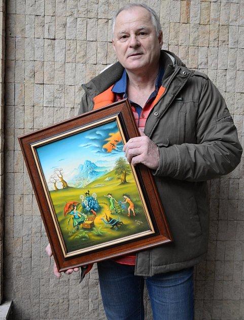 Malíř Eduard Bárta