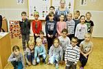 První třída Základní školy Horní Jiřetín s paní učitelkou Markétou Šnorovou.