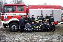 Dobrovolní hasiči z Obrnic