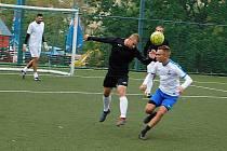 V Mostecké lize malé kopané hráči zahájili novou sezonu.