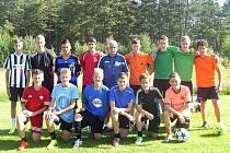 Fotbaloví žáci FK Baník Most.