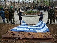 V Mostě odhalili památník obětem bojů za samostatnost ČSR v roce 1918